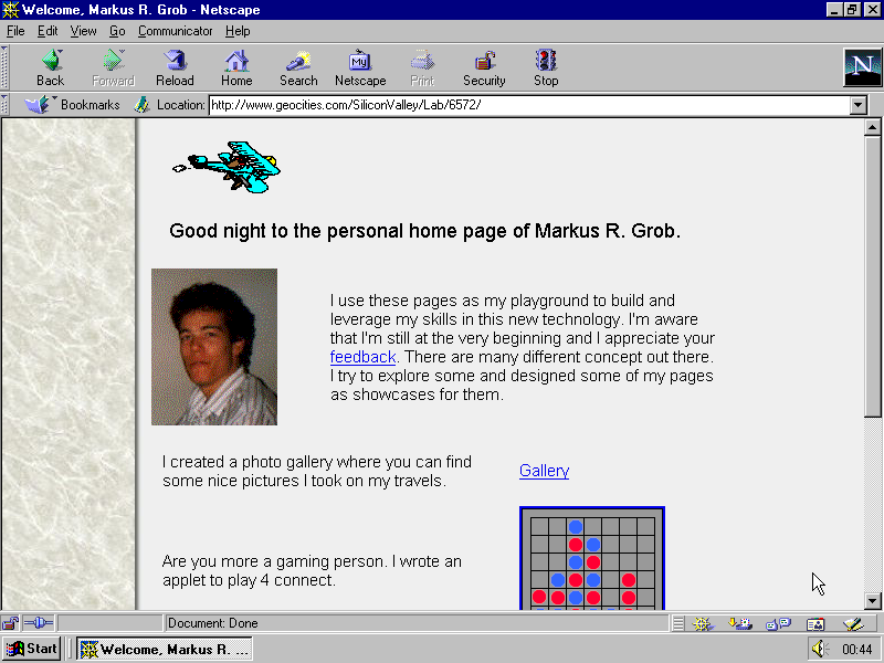 Remembering Geocities, the future