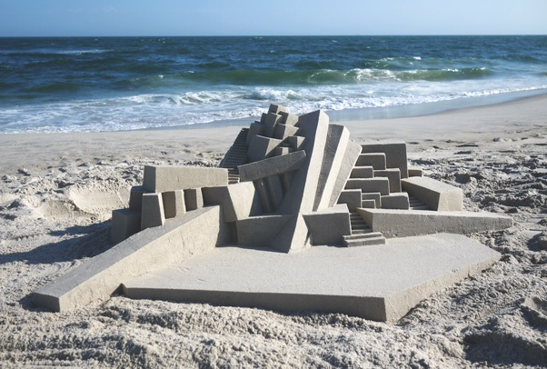 Brutalist beaches