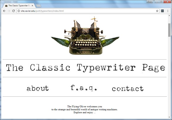 classic-typewriter-page