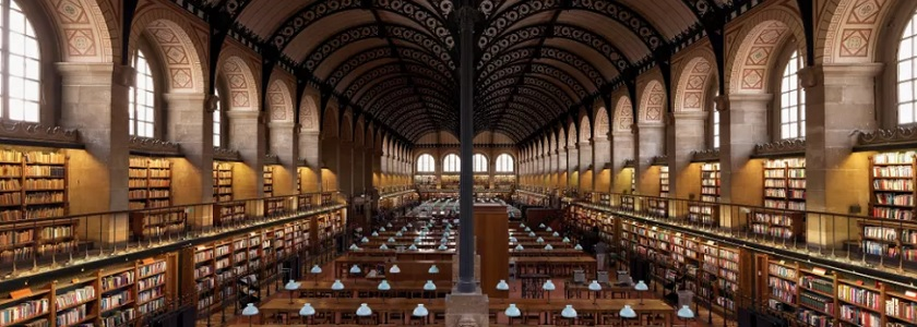 Beautiful libraries, inside and out