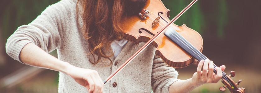 Let the violinssing