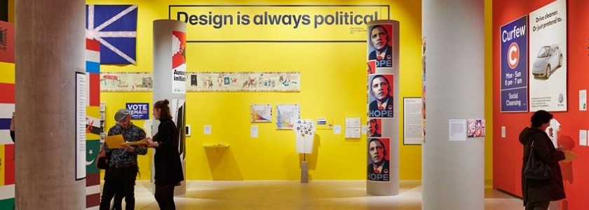Design Museum's political exhibition gets political