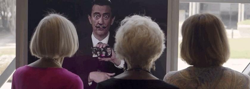 Dalí's back