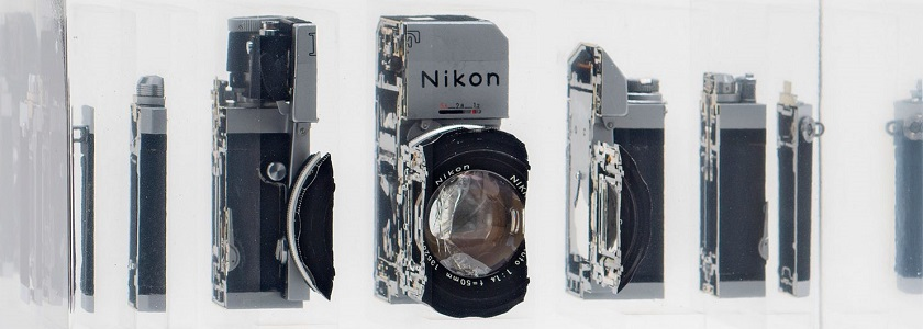Cut-up cameras