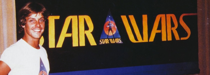 A long time ago, a logo far far away
