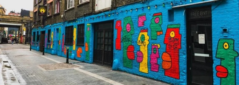Leading you through the street art of London