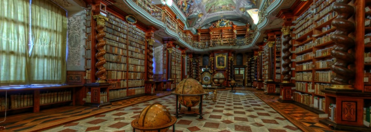 Virtual libraries and enigmatic librarians