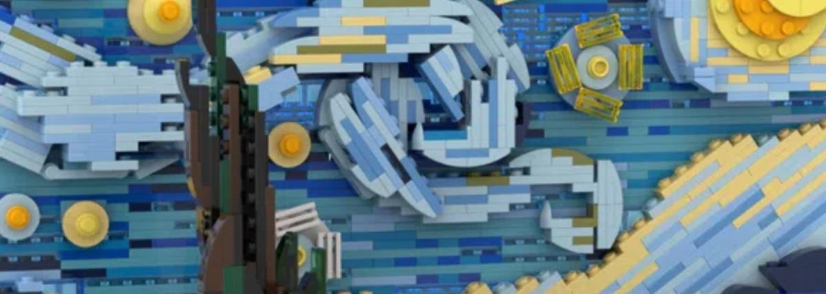 Starry bricks